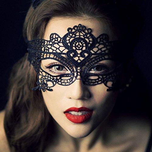 G&H Weihnachten Halloween Hohl Stereo Spitze Maske Erwachsene Sexualität Sexy Bar Nachtclub (Fat Halloween Suit Kostüme)