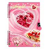 #10: Asera Beautiful Heart Spiral Lock Diary Love Diary - Best Gifts for Men Women