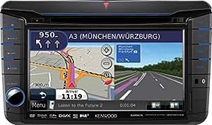 Kenwood Electronics DNX-521DAB 200W Bluetooth Multicolour car media receiver - car media receivers (4.0 channels, DAB,FM,LW,MW, 87.5 - 108 MHz, 531 - 1611 kHz, 153 - 279 kHz, 24 bit)