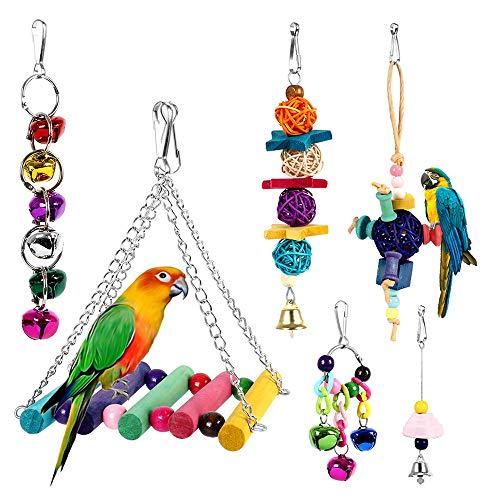 Dightyoho 6pcs Juguetes Coloridos Pájaros