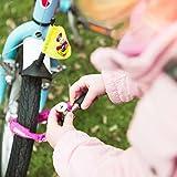 Fahrradschloss »Guardian« Sicherheitsschloss / Radschloss / Stahlgliederketten mit Schlüsseln zur Basisabsicherung bei niedrigem Diebstahlrisiko / Inkl. 2 Schlüssel /ca. 60 cm lang, Durchmesser ca. 20 cm, Stärke ca. 3-4mm / erhältlich in 4 Farben (navyblau, pink, grün , rot & schwarz) daher ideal auch als Kettenschloss für Kinderfahrräder / blau -
