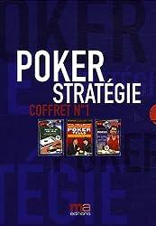 Poker stratégie : Coffret n°1 en 3 volumes : Tome 1, Poker tells ; Tome 2, Les secrets du cash game ; Tome 3, Shuffle up and deal