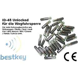 ID de 48, T6, tp08, megamos 48Crypto transpondedor, V de W, A de UDI, S de Koda, S de Eat, F de iat, ect.