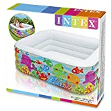 Intex Kinderpool Clearview Aquarium Pool, mehrfarbig, 159 x 159 x 50 cm -