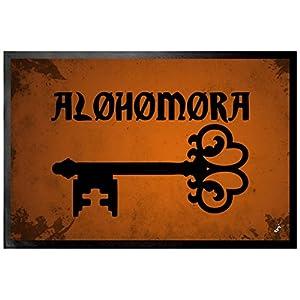 1art1 Hechizos Mágicos - Alohomora, Encantamiento De Apertura Felpudo Alfombra (60 x 40cm) 26