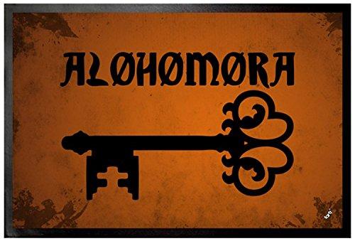 1art1 Hechizos Mágicos - Alohomora, Encantamiento De Apertura Felpudo Alfombra (60 x 40cm) 6