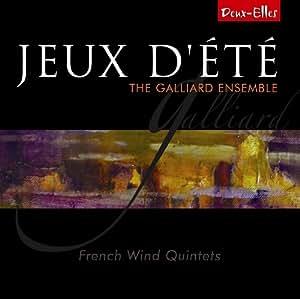 Jeux dete - Music by Paul Taffanel; Gabriel Pierne; Eugène Bozza; Darius Milhaud; Jean Françaix