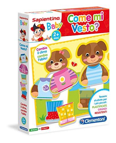 Clementoni 11963 - Sapientino Baby Come Mi Vesto