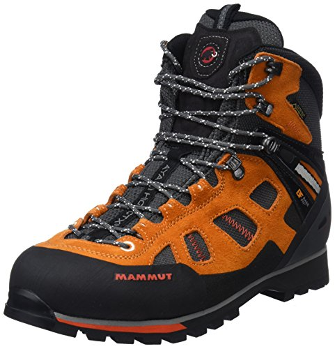 Mammut Herren Ayako High GTX Trekking-& Wanderstiefel, Orange (Dark Radiant/Dark Orange 000), 40 EU