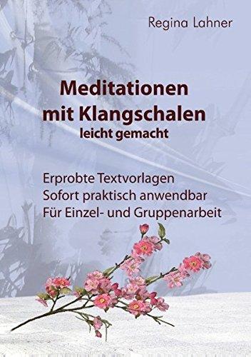 Preisvergleich Produktbild Meditationen mit Klangschalen leicht gemacht