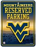 NCAA Abonnements Metall Parken Schild, West Virginia Mountaineers