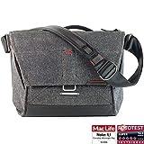 Peak Design Everyday Messenger Bag 13 V2 Charcoal - Fototasche für 1 DSLR-Kamera, 1-2 Objektive, 1 13