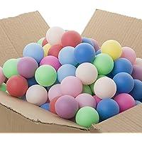 Pelotas GOGO de ping pong o para decoración en colores surtidos, 40mm, 150 unidades., Unisex, varios