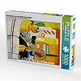 Zwei Männer von den Stadtwerken Mainz 1000 Teile Puzzle hoch (CALVENDO Menschen)
