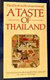 Front cover for the book A Taste of Thailand by David Scott