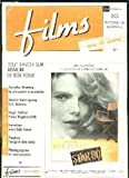 FILMS N° 20 DU 15 FEVRIER 1984. SOMMAIRE: TOUT SAVOIR SUR STAR 80 DE BOB FOSSE, DOROTHY STRATTEN LA PLAYMATE ASSASSINEE, PLAYBOY L EMPIRE DES SENS, PHOTOGRAPHES ET MANNEQUINS...
