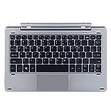 Original Keyboard Magnetisch Docking mit multimodal drehbar Schaft Tastatur für Chuwi HI10 PRO/Hibook/Hibook Pro