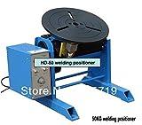 HD-50 50 KG posicionador de soldadura para pieza de trabajo circular portátil equipo de torno