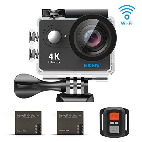 EKEN H9R Wifi 4K25fps1080p 60fps Control remoto + Selfie palillo...