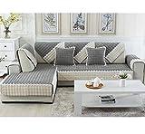xianw Reversible bleiben im Ort plüsch m?Bel Sofa Protector Design schutzhüllen für Hunde geprüft Katzen,Keine schiebetüren mit Riemen-D 110x160cm(43x63inch)