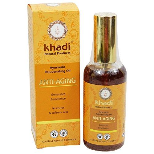 Khadi Anti-Aging Gesichts- und Körperöl, regenerierend, Anti-Aging, belebend, 100 ml -