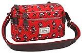 Die besten Disney Messenger Bags - Disney Classic Minnie Cheerful Umhängetasche, 24 cm, Rot Bewertungen