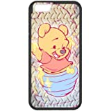 iPhone 6/6S Rubber Cover Customize Winnie l'Ourson Case for iPhone 66S (4.7inch) Coque Back Case en Silicone pour iPhone 6S
