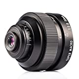 Zhongyi 20mm F2 Makro Objektiv manuelles Vollformat 4X-4.5X micro lens für Pentax K Mount Kamera mit TARION Tasche