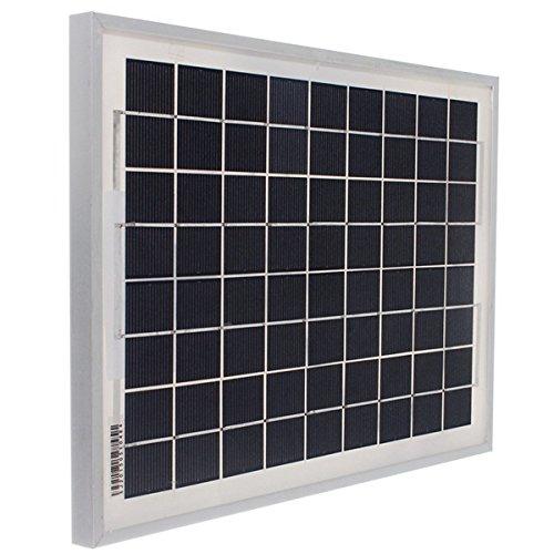 MYAMIA 10W 12V Energy Solar Panel Batterieladegerät Polykristallin 340x250x17Mm