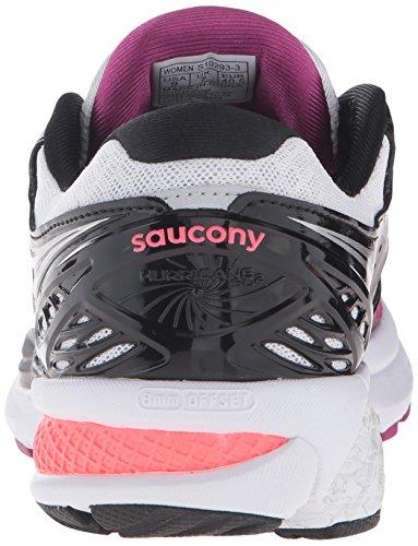 Saucony Hurricane Iso 2 W', tour de formation femme Multicolore (Purple/Bk/Blanc Pa)