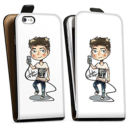 Apple iPhone X Silikon Hülle Case Schutzhülle Lukas der Rapper Fanartikel Merchandise Youtuber Downflip Tasche schwarz