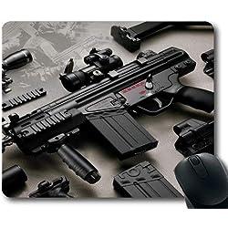 Yanteng Tapis de Souris de Jeu, Produits de Nettoyage pour Pistolet, Pistolet HD, Tapis de Souris avec Bords Cousus
