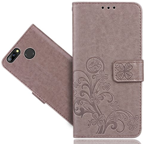 FoneExpert® Blackview A7 / A7 Pro Handy Tasche, Wallet Case Cover Flower Hüllen Etui Hülle Ledertasche Lederhülle Schutzhülle Für Blackview A7 / A7 Pro
