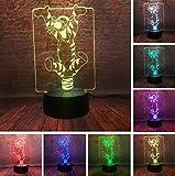 Klsoo Sitzen Spielen Minnie Mickey Mouse 3D Led Nachtlichter 7 Farben Usb Licht Baby Schlaf Dekor Freund Spielzeug Geschenke