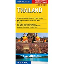 Cartes de voyage Thaïlande 1 : 500 000