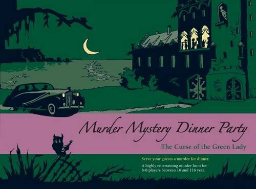 Preisvergleich Produktbild Blaubart BLA01004 - Murder Mystery Dinner Party: The Curse of the Green Lady Spiel