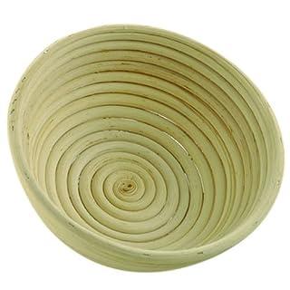 Gärkorb Gärkörbe Brotform Peddigrohr 1,5 kg rund
