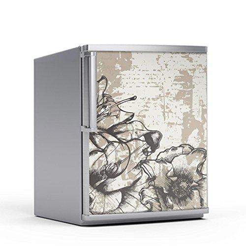 creatisto Kühlschranksticker Kühlschrank 60x80 cm | Deko Kühlschrank-Folie Sticker Aufkleber abwaschbar Kühlschrank dekorieren Küche |...