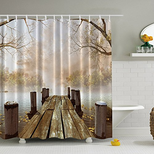 soule-region-ocean-decor-fall-holz-brucke-scenery-view-decor-home-badezimmer-set-deko-sonnenuntergan