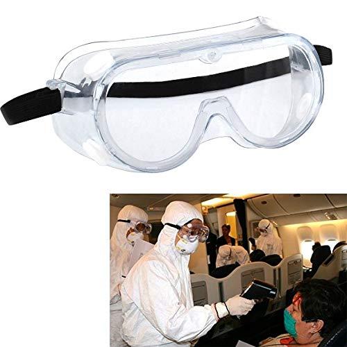 Xiaochou@sl Einfache Anti-Staub- / Sputter-Schutzbrille klar