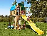 JUNGLE GYM Spielturm Jungle Villa, Gesamtmaße (B/T/H): 170/390/270 cm