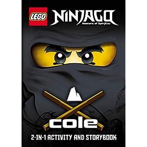 LEGO Ninjago: Cole/Jay 2-in-1 Ninja Handbook 2 spesavip
