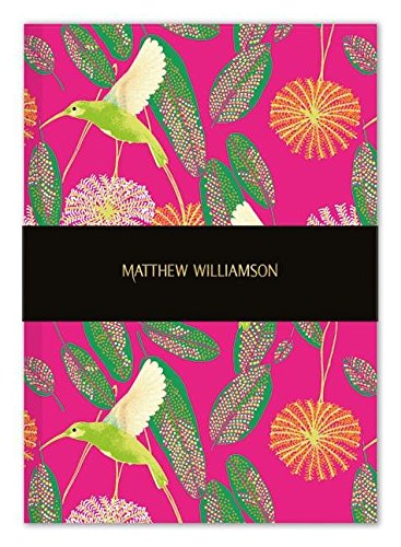 Museums & Galleries Deluxe Soft Cover Notebook Matthew Williamson Hummingbird