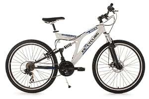 VTT tout suspendu 26'' Nice blanc TC 48 cm KS Cycling
