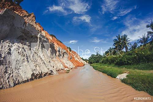 druck-shop24 Wunschmotiv: MUI Ne in Vietnam. Red Sand Scenic Canyon. #129291671 - Bild auf Forex-Platte - 3:2-60 x 40 cm / 40 x 60 cm