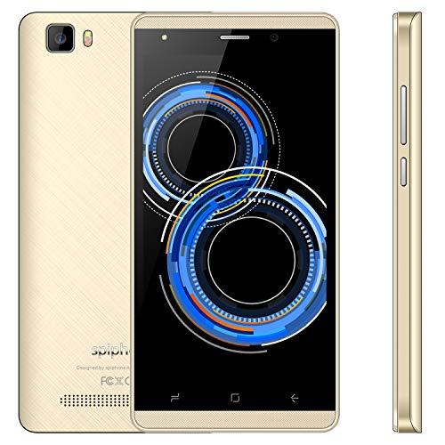 Moviles Libres Baratos 5.0 Pulgadas Telefonos 16GB Memoria Android 7.0 Batería 2800mAh Cámara 5 MP Dual SIM A10 Pro -...