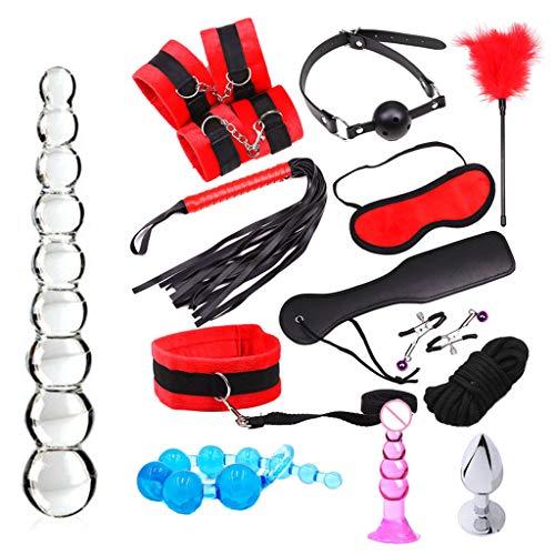 Sayla Sexy Spielzeug für Damen SM Plüschanzug G-Punkt Kugel Dildo Vibrator Anal Butt Plug Massagegerät Sex Love Toys (Männer Sex Geheimnis Toies Für)