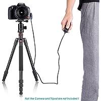 Neewer® RM VPR1 Obturador Release Control Remoto RS-60E3 Reemplazamiento para Canon EOS 650D/600D/550D/500D/1000D/450D/400D/350D/300D/100D/700D (Rebel T4i, Rebel, Rebel XT, Rebel XTi, Rebel XSi, Rebel XS, Rebel T1i, Rebel T2i, Rebel T3i) Canon EOS 60D Samsung GX-20/GX-10/GX-1L GX-1S Pentax K20D/K200D/K10D/K100D Super/K100D/K110D/ *ist Ds2 / *ist D / *ist Ds / *ist / *ist DL