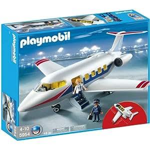 Playmobil 5954 Le jet de Vacances