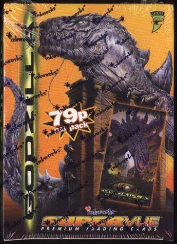 Factory Sealed Box of 1998 Inkworks Godzilla Supervue Cards by Inkworks